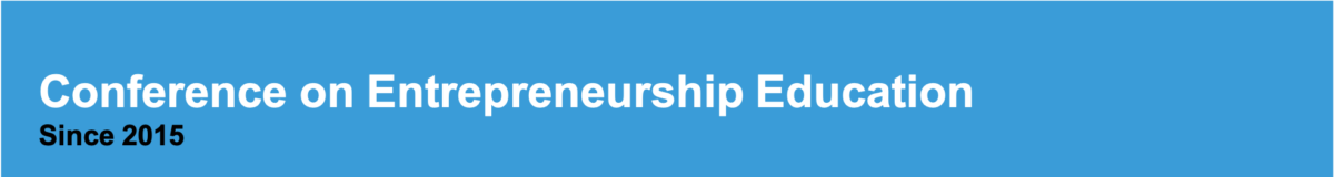 Since 2015 – Conference on Entrepreneurship Education